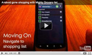 Mighty Grocery Shopping List App video